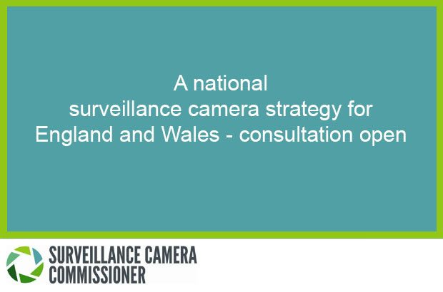 Image with the words 'A national surveillance strategy for England and Wales - consultation open'
