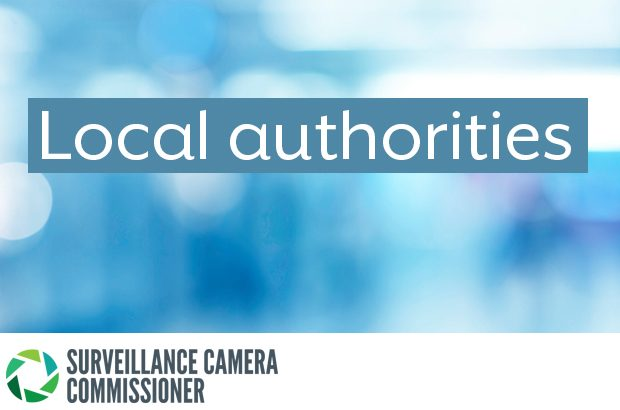 Abstract image with the words'local authorities'