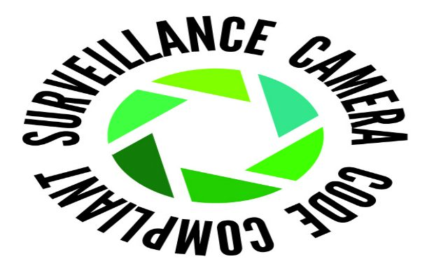 Image of surveillance camera certification mark